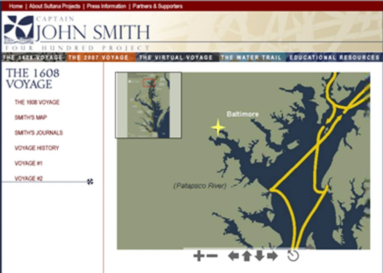 Captain John Smith's Voyage